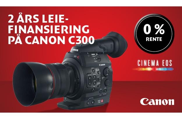 Canon C300 med autofokus