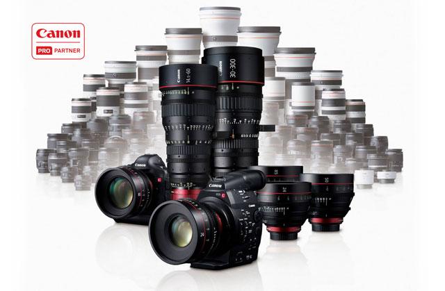 Canon Cine Prime optikk