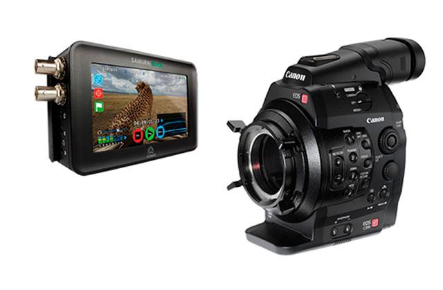 Canon C300 med recorder