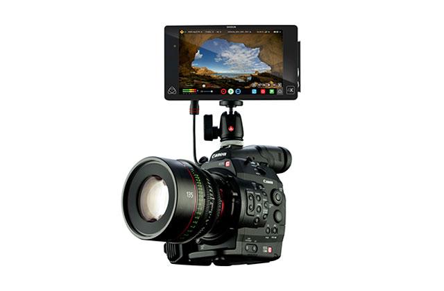 4K kamera med opptaker