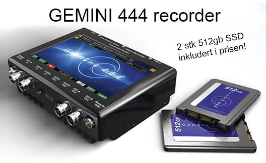 Redusert pris p GEMINI 444 recorder