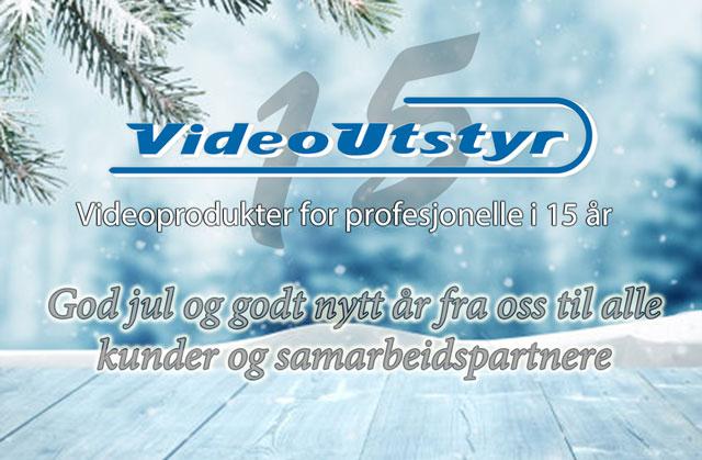 Vi ønsker deg en god jul og et godt nytt år!