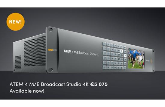 ATEM 4M/E Broadast Studio 4K