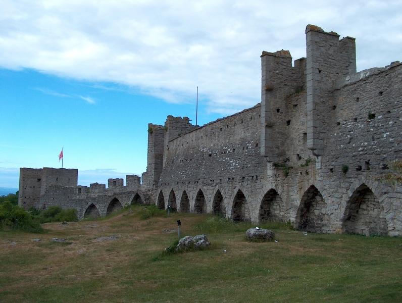 Godt bevarte middelalderstrukturer i Visby