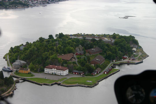 helikopter gavekort Oscarsborg