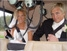 Brudepar i helikopter - helikoptertur helikoptertjenester