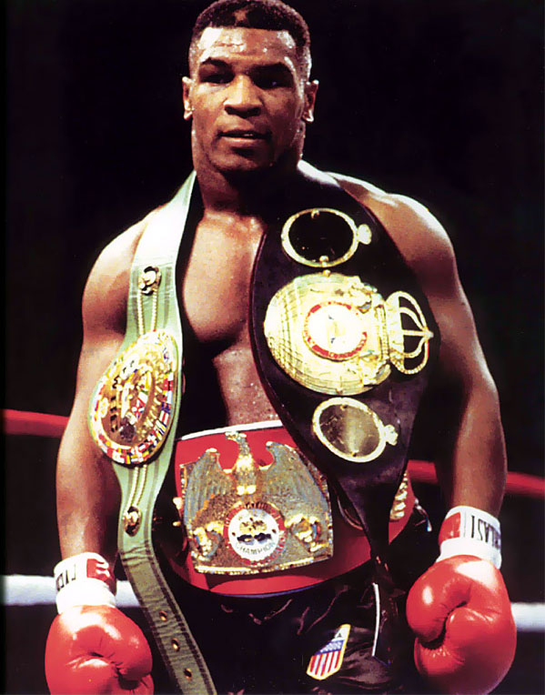 This made Mike Tyson the first undisputed champion since Leon Spinks.