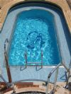 New pool finishes