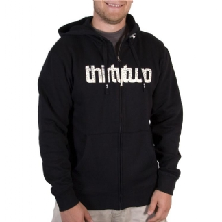 THIRTYTWO LASHED ZIP HOOD