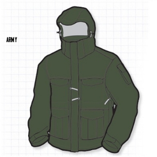 RIPZONE ARSENAL 3in1 JACKET