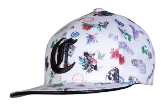 CIRCA COLLAGE FITTED WHITE