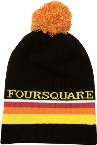 FOURSQUARE ROPE TOW BEANIE
