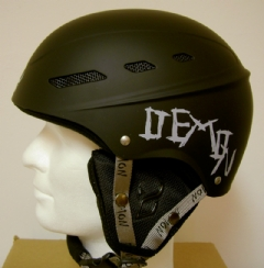 DEMON HELMET SHELL BLACK