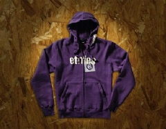 ETNIES FOILED MENS ZIP HOOD