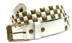 CHECKER WHITE/GOLD