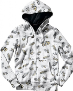 THIRTYTWO GAZILLIONAIRE GIRLS ZIP HOOD