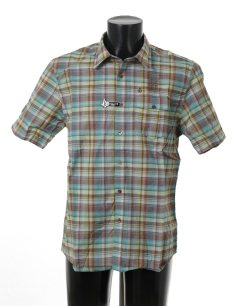 VOLCOM MAGAR PLAID S/S