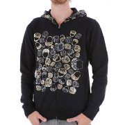 ETNIES TEAM 2 MENS PRINT ZIP HOOD