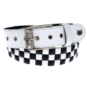 CHECKER WHITE/BLACK/WHITE