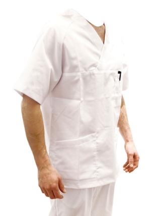 Unisex kittel og bukse med gylf